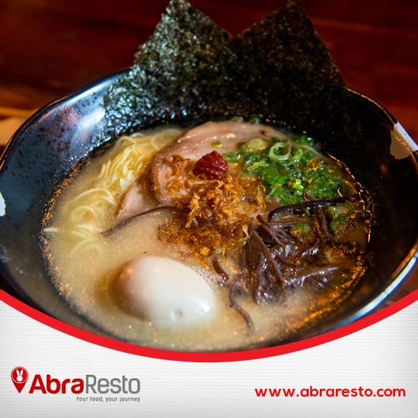 How can you resist from this Tasteful Ramen? Find the best one here http://bitly.com/AbraFoodPolitics