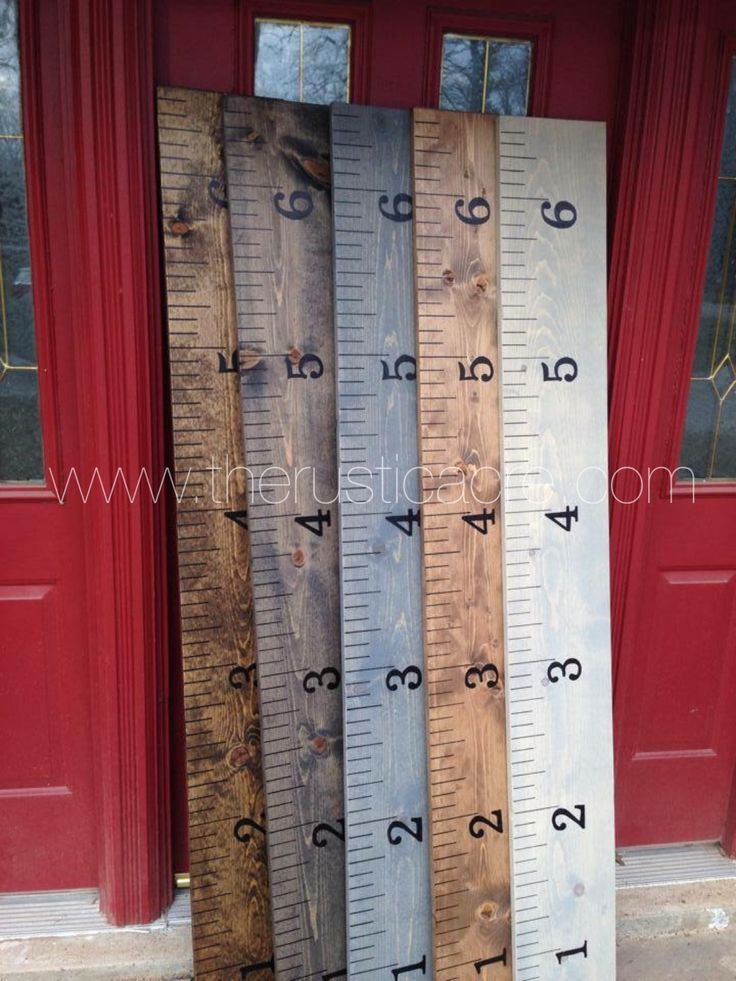 The Rustic Acre Vintage Growth Chart Ruler by TheRusticAcre