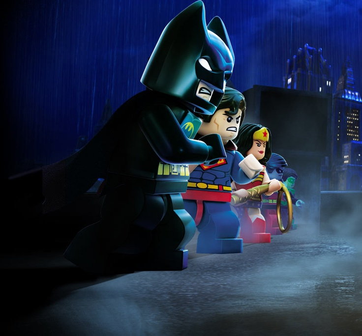 Very cool. Lego meets Superheros. And gaming.