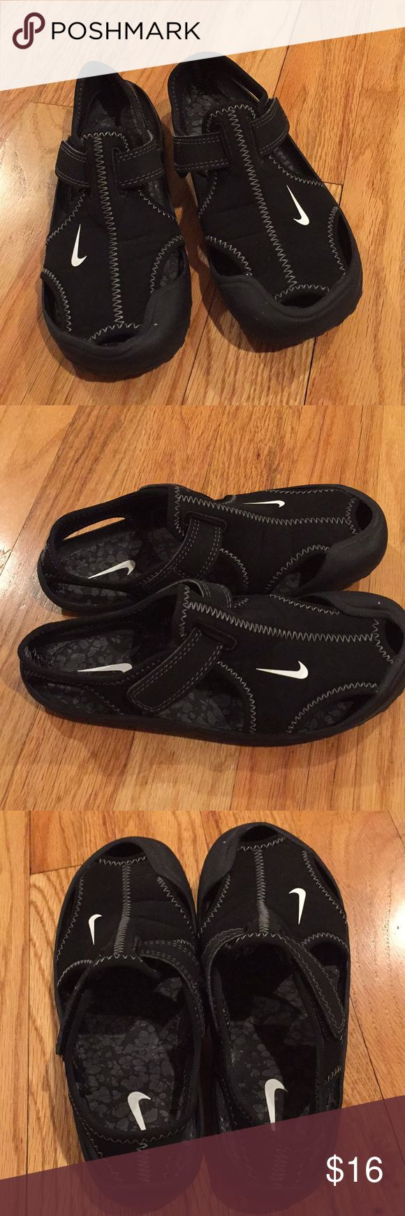 Nike boy water shoes final price Worn twice but look very good and clean as the pic shows Nike Shoes Water Shoes