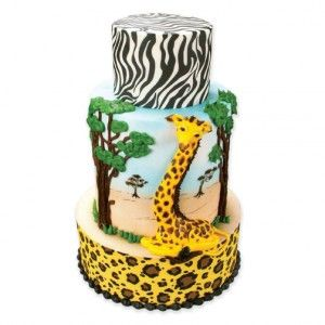 Jungle Safari Cake Idea