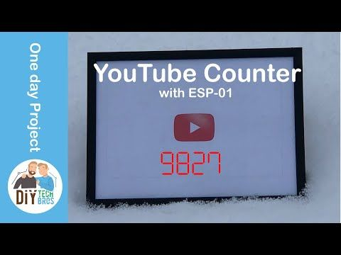 Youtube subscriber and views counter 2019 API issue solved