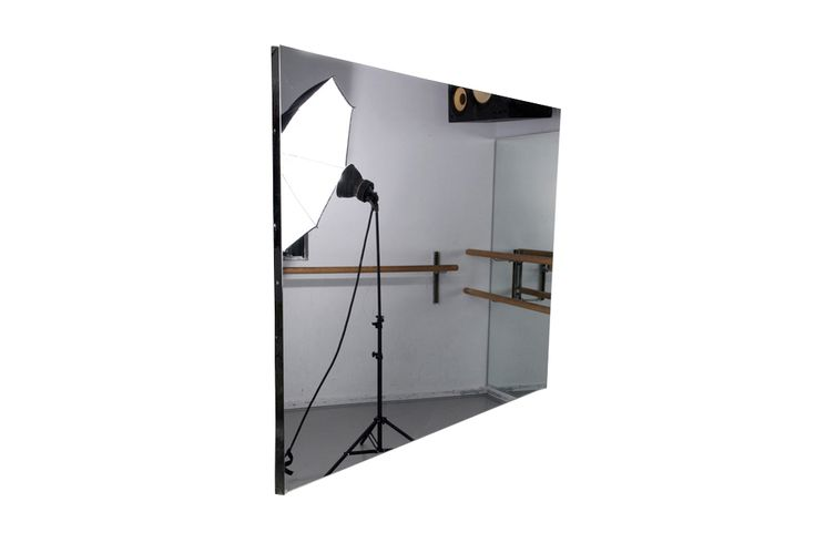 Glassless Mirror Panels Are Lightweight And Can Be Mounted