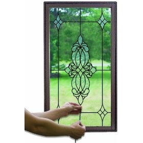 Make your own make your and stained glass windows on for Make your own stained glass window film