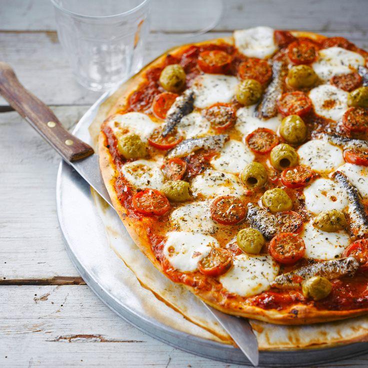 Pizza napolitaine #recette #pizza #facile