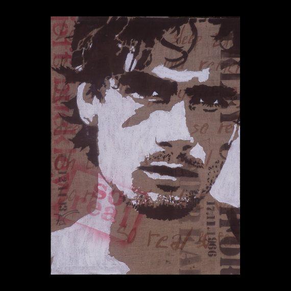 Jeff Buckley So real  by Fü  100x120cm   Stencil par FuStencil, €500.00