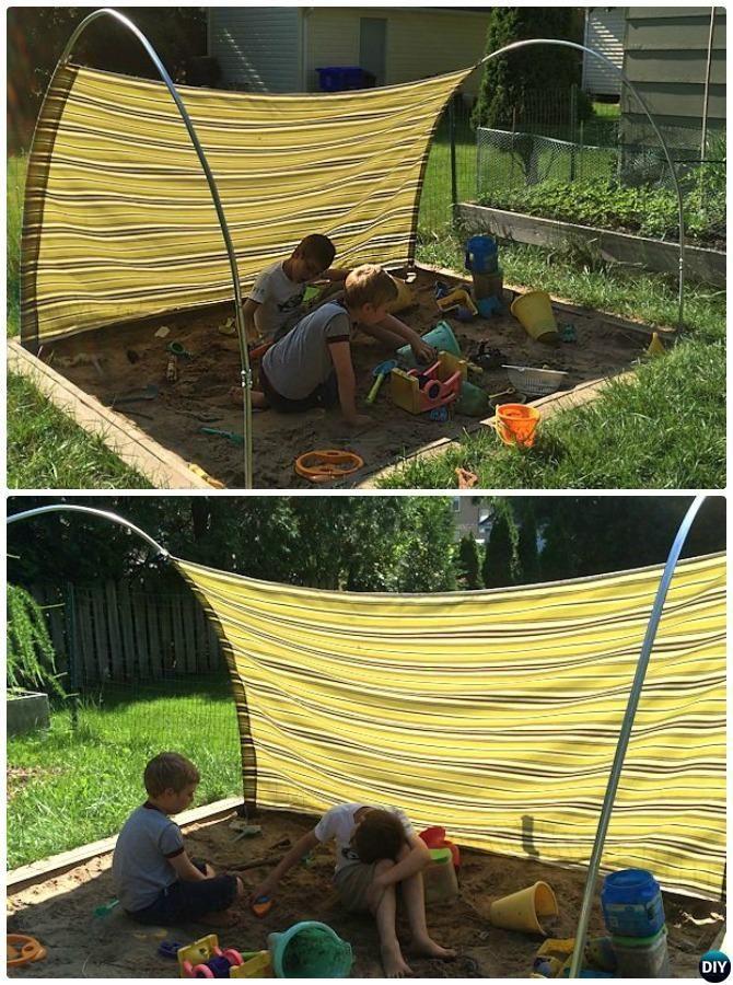 DIY-PVC-Überdachungsprojekte im Freien [Picture Instructions]