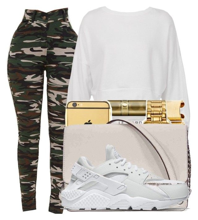 """""""Untitled #334"""" by lowkeysavage11 on Polyvore featuring Sans Souci, Michael Kors and NIKE"""