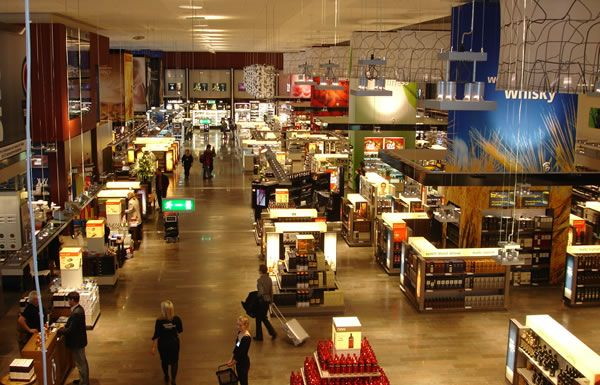Assessing The Nuance Group's travel retail 'cathedral' at Stockholm-Arlanda Airport – 16/12/08 | TheMoodieReport.com