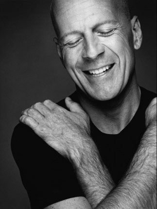 Bruce Willis ... what a man!