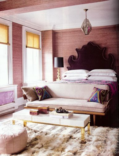 cool guest room idea: Interior Design, Ideas, Elle Decor, Headboards, Dream, Bedrooms, House, Master Bedroom, Space