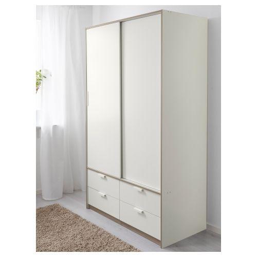 TRYSIL armario+puerta corredera