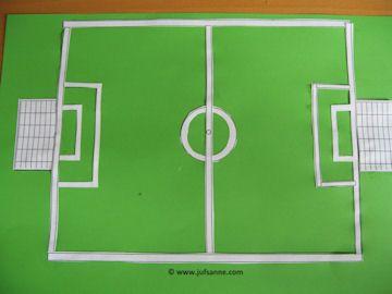 Een eigen voetbalveld maken: meten en rekenen op een plezante manier