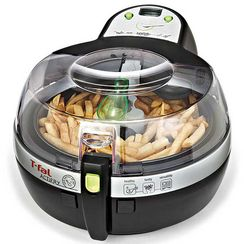 T-Fal Nutritious and Delicious Actifry Gourmet Edition Air Fryer, Black