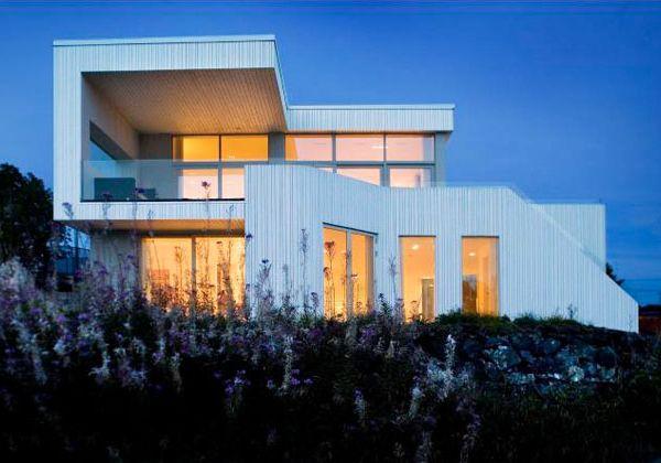 Contemporary Villa Design - Norway villas reflect Nordic architecture