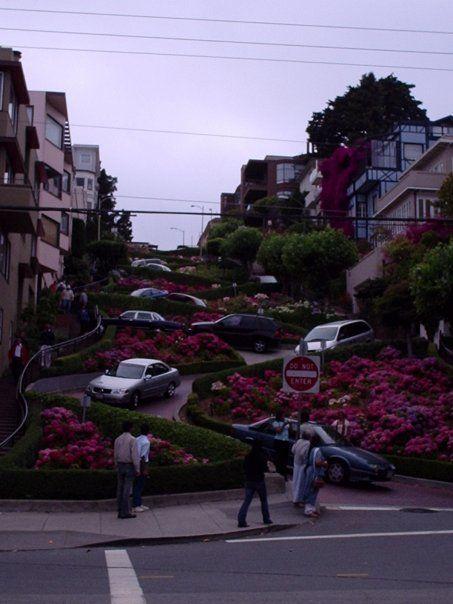 Lombard Street_San Francisco, California