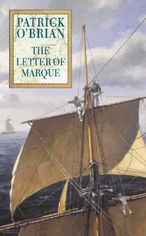 """The Letter of Marque by Patrick O'Brien. """"When Jack Aubrey is unfairly deprived of his commission in the Royal Navy, Stephen Maturin comes to the rescue, purchasing the captain's former ship and outfitting it as a privateer, to be commanded by...Jack Aubrey."""""""