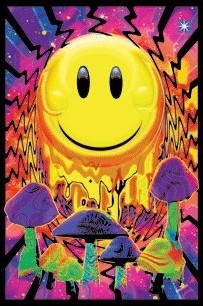 Opticz - Have a Nice Trip - Black Light Poster www.trippystore.com/opticz_have_a_nice_trip_black_light_poster.html