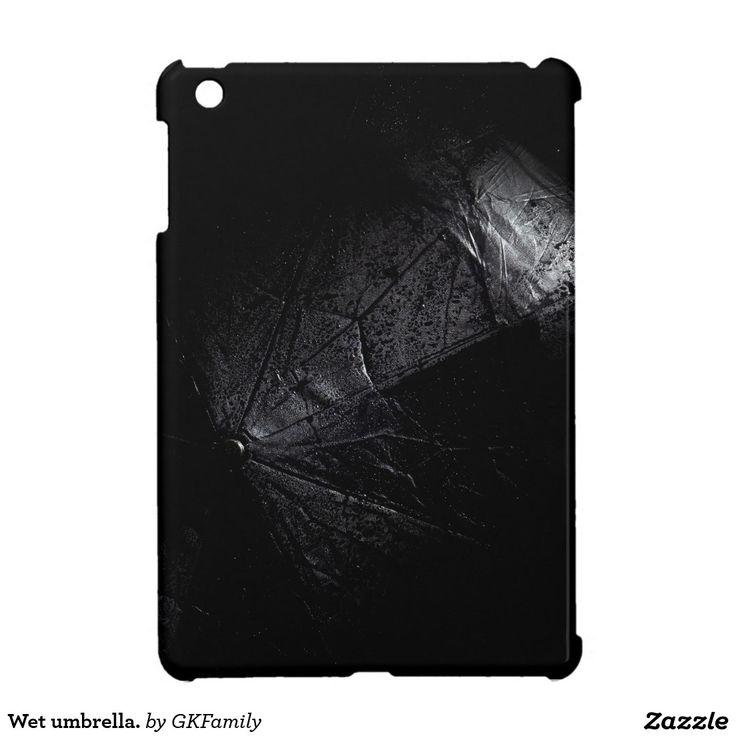 Wet umbrella. iPad mini cases