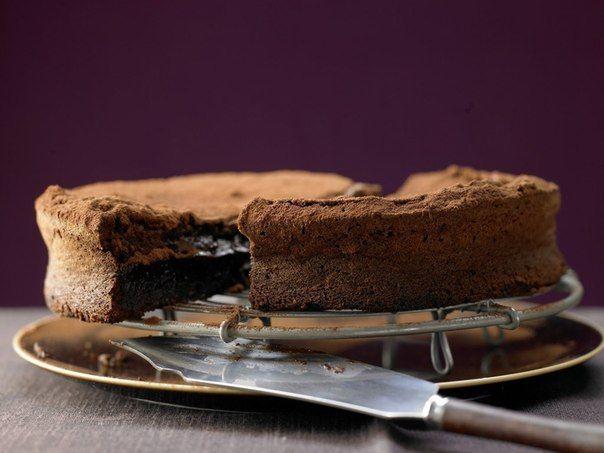 Шустрый Повар | Рецепты | Кулинария: Шоколадный торт без муки.125 г горького шоколада (70% какао)100 г масла150 г тростникового сахара3 ...