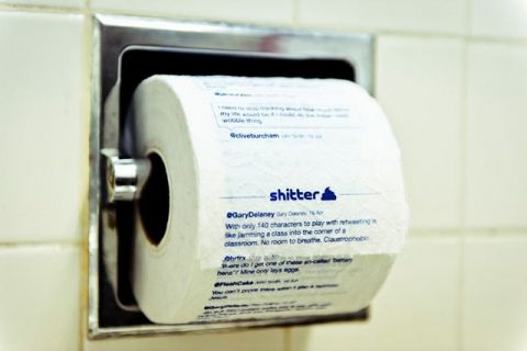 Shitter: Turn Your Twitter Feed Into Toilet Paper