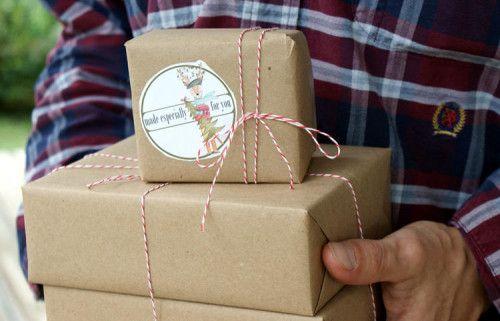 Printable Woodland Deer Holiday and Christmas Gift Tags and Labels