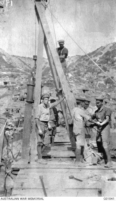 Military Engineering contribution to the Australian Operations of World War I | Gallipoli, June 1915.