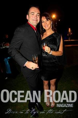 Marc Zabern & Vanessa Woodhouse - Currumbin Wildlife Hospital Foundation Annual Gala Dinner — at Jupiters Gold Coast.