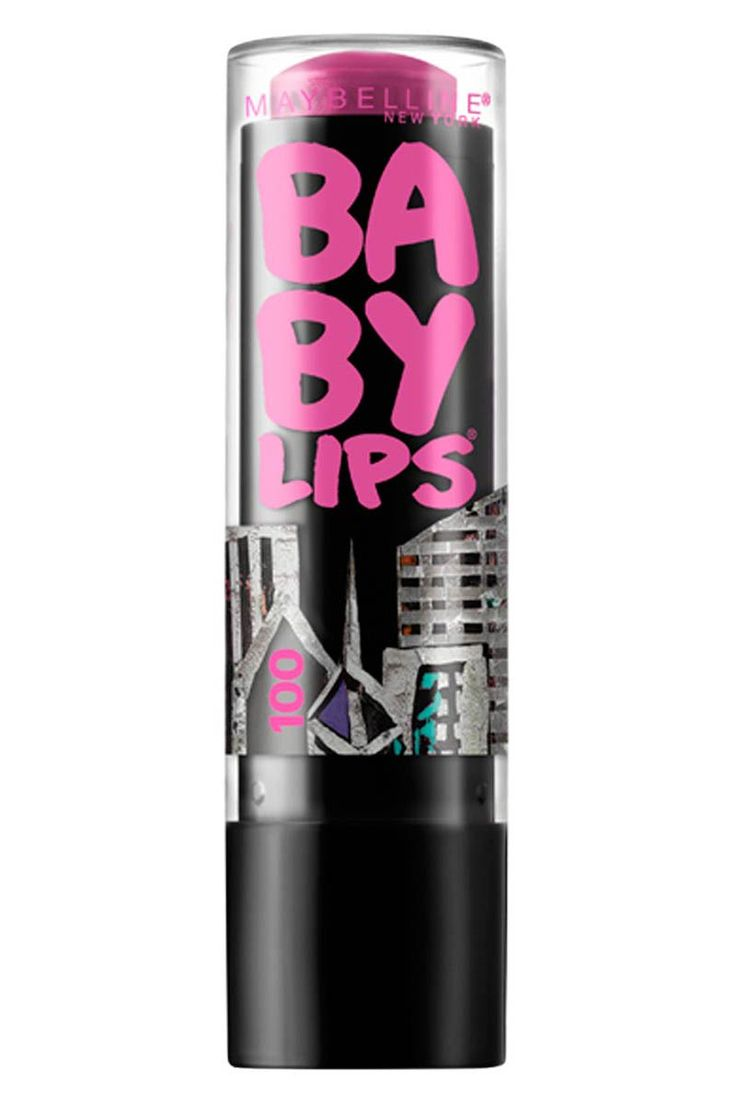 Maybelline New York Baby Lips in 'Fuchsia Fix' See what else is new for their 100th anniversary