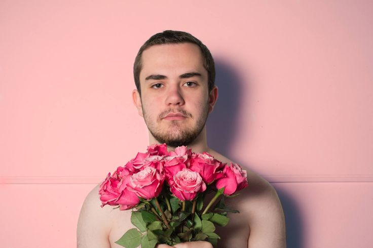 Final 5- This shoot was very standback and shy, poor lawrence didnt really know what was going on, so he just stood infront of the wall and looked at me like i was about to shoot him.  so we felt that the colour pink worked batter with his characters than any of the others I had to shoot with.
