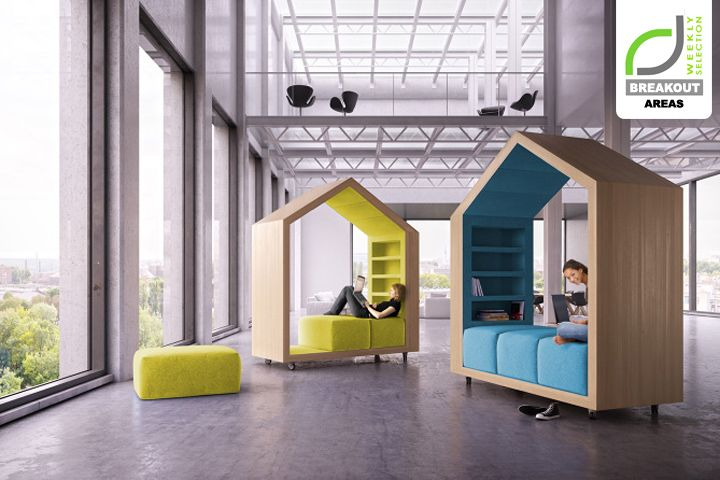 These modular furniture units consist of treehouse-inspired pieces that can be joined together or positioned separately, depending on the need and task. Designed by Dymitr Malcew, the furniture was created for a co-working office space and includes cushions that can be pulled out and positioned around the room to create the office set-up desired by …