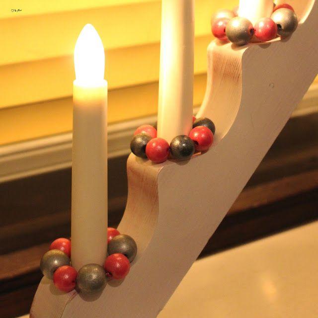 Vanhan kynttelikön tuunaus uudeksi