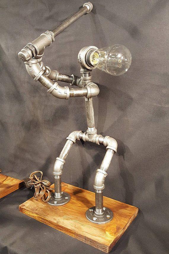Best 25 Industrial Lamps Ideas On Pinterest Pipe Lamp