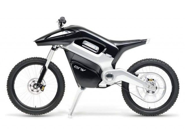 ENV Hydrogen Fuel Cell Motorcycle