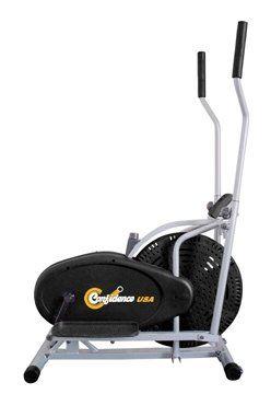 Cyclette Confidence silenziosa e molto comoda per i tuoi allenamenti giornalieri in casa!