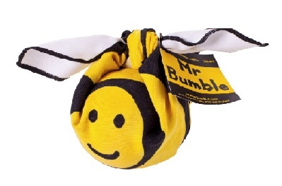 Lush     Mr Bumble          Two of your favourite products all tied up like an adorable bumblebee Knot-Wrap – we're sure you're buzzing with excitement about giving this gift! This little fella was created for busy bees to enjoy - great for boys and girls, lads and lasses!  ($14.50)