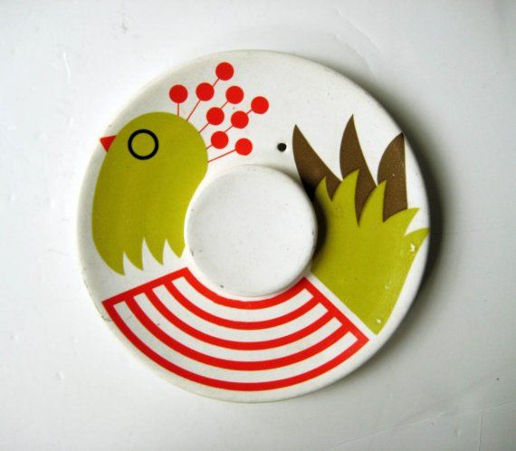 in my Vintage Kitchen Scandinavian design Bird by BlueRoseRetro