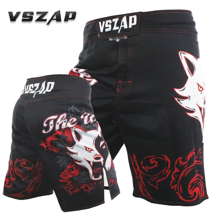 2017 VSZAP Boxing Pants Cheap Mens MMA Breathable Cotton Shorts Fight Grappling Boxing Muay Thai Pants Thai Boxing Shorts MMA