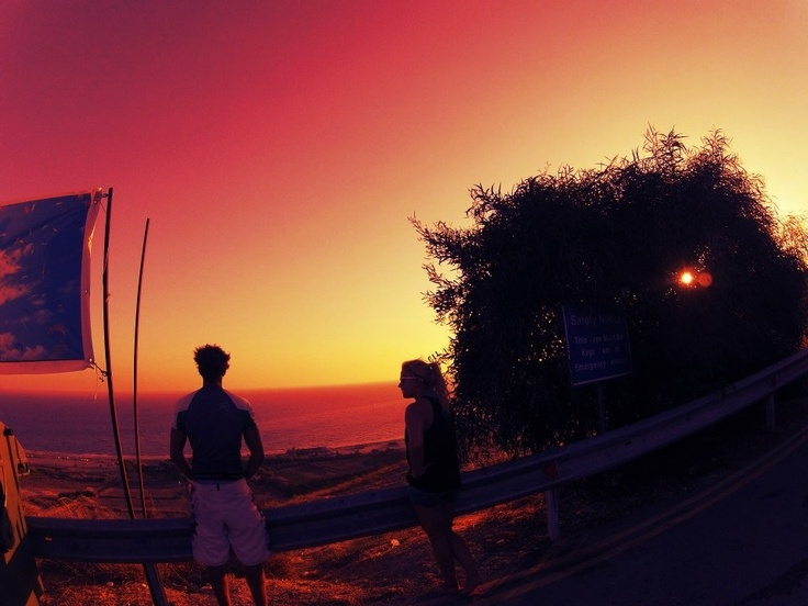 Summer sunset ♡