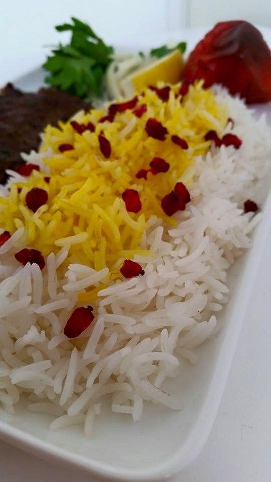 Persiskt ris med saffran