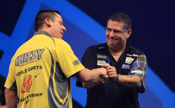 Gary Anderson defeats Dave Chisnall to reach the World Darts Championship semi-final