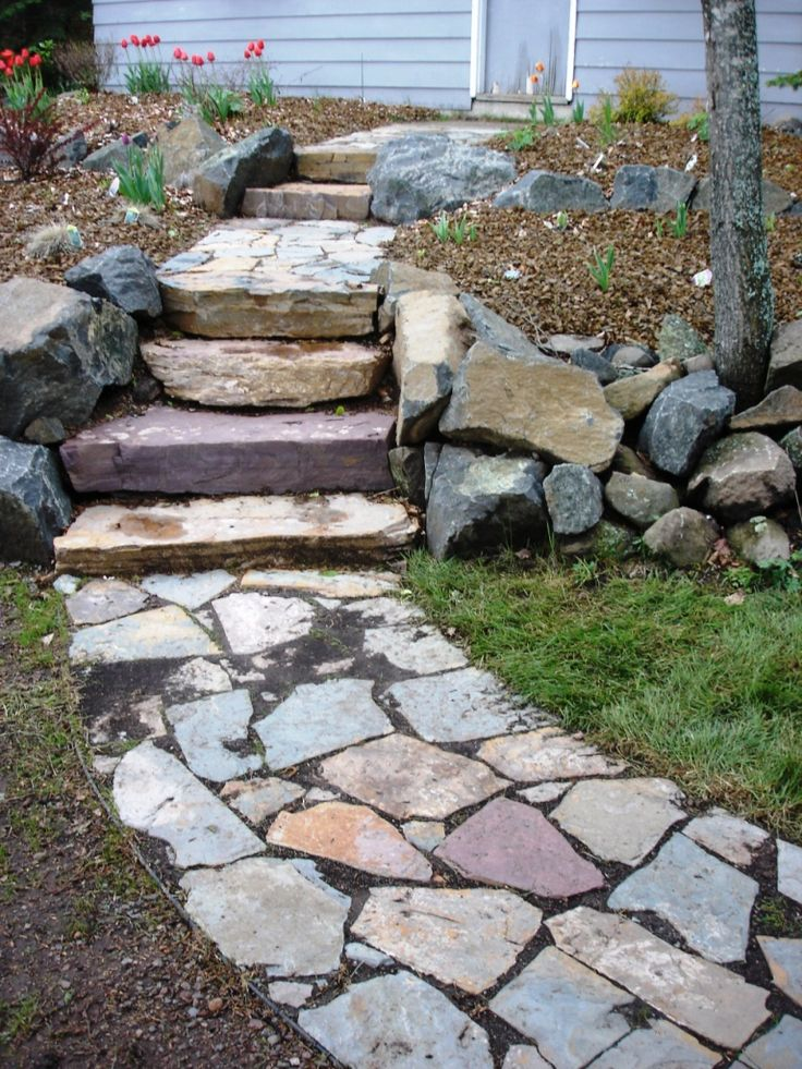 Best 25 Landscape Stairs Ideas On Pinterest Outdoor Stairs