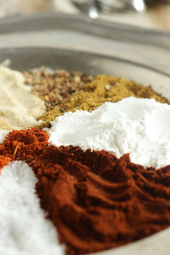 No artificial flavors and preservative free, homemade fajita seasoning mix is ready in just a few seconds.   the Suburban Soapbox
