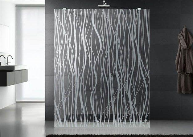 17+ melhores ideias sobre Vidro Jateado no Pinterest  Gravura de vidro, Pint -> Armario De Banheiro Com Vidro Jateado