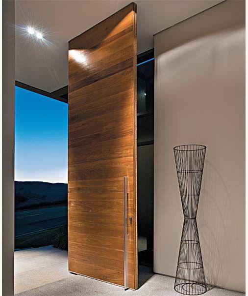porta entrada   Segue algumas inspirações de modelos contemporâneos, imponentes...