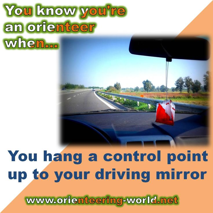 You hang a control point up to your driving mirror.