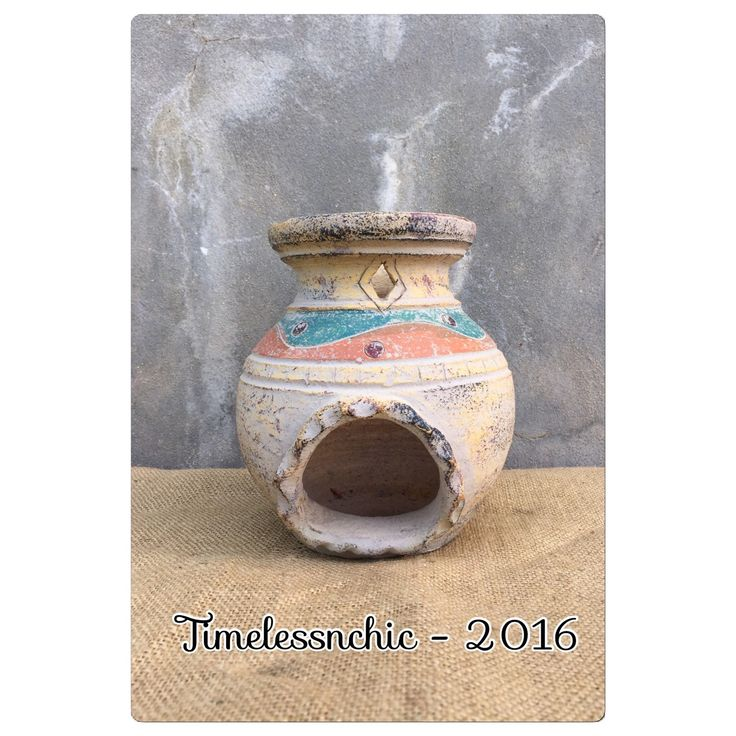 A personal favorite from my Etsy shop https://www.etsy.com/listing/291102803/candle-holder-chiminea-candle-holder