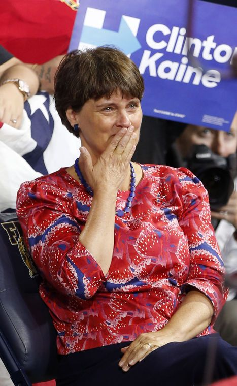 When Hillary Clinton picked Tim Kaine as her running mate, she also got another partner who's a power in her own right.==Anne Holton, wife of Tim Kaine, is down-to-earth advocate who's tough and no stranger to the limelight