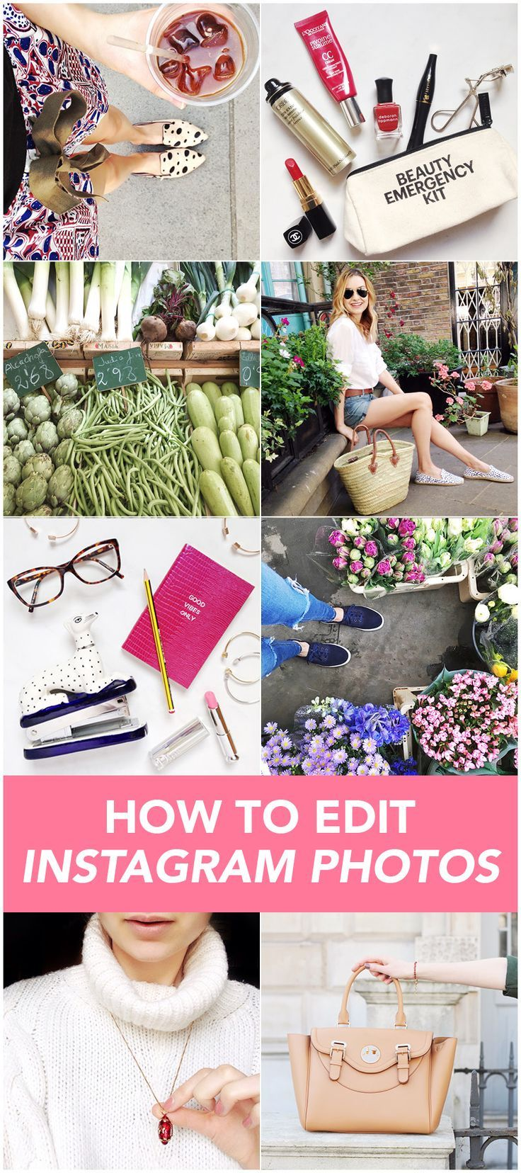 The best image editing Apps to use for Instagram. How to edit images for Instagram.