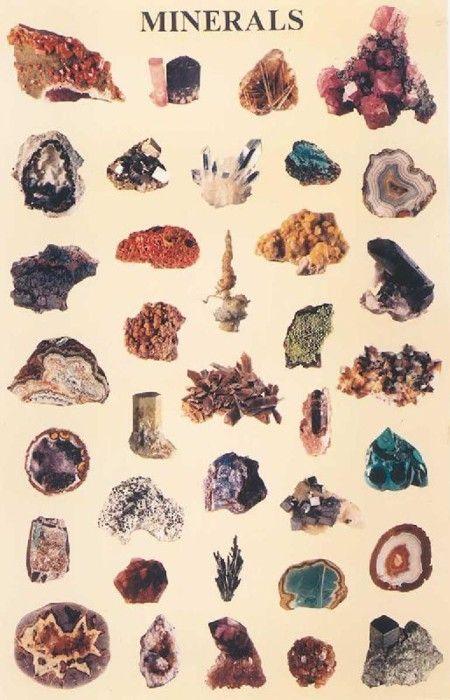 mineral engravings